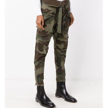 FAITH CONNEXION   Camouflage Print Military Trousers   brownsfashion.com   The Finest Edit of Luxury Fashion   Clothes, Shoes, Bags and Accessories for Men & Women