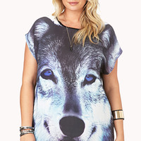 Wolf Craze Knit Top