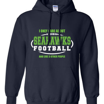 Seattle Seahawks Football Sweater NFL Seahawks Football Birthday Gift Christmas Gift Ultimate Football Fan Custom Hoodie Team Pride BD-251