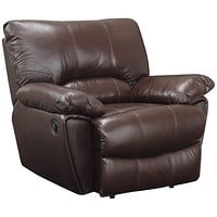 Comfy Reclining Chair, Dark Brown