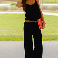The Harlem Jumpsuit, Black