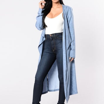 Cobblestone Streets Jacket - Denim