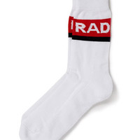 White 'Rad' Tube Socks - Men's Socks  - Clothing