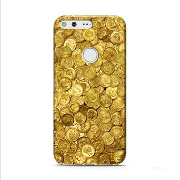 Gold Coin Old Google Pixel XL 2 Case