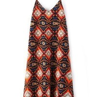 Neat Geo Backless Cami Dress - OASAP.com