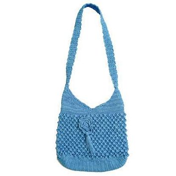 Chenda Crochet Shoulder Bag
