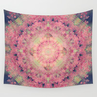 Marie Antoinette Wall Tapestry by Sandra Arduini