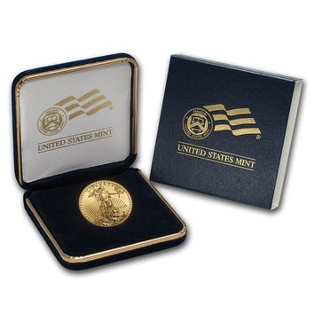 2019 1/2 oz Gold American Eagle BU (w/ U.S. Mint Box)