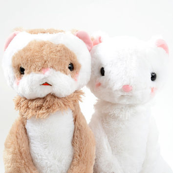 Gokigen Ferret Plushies (Big)