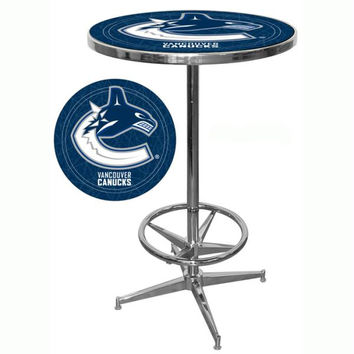 NHL Vancouver Canucks Pub Table
