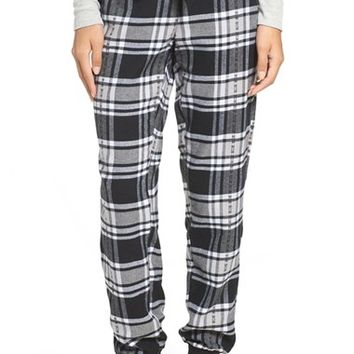 Make + Model Plaid Flannel Lounge Pants | Nordstrom