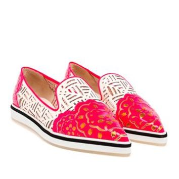 NICHOLAS KIRKWOOD | Laser Cut Point-Toe Loafers | Browns fashion & designer clothes & clothing