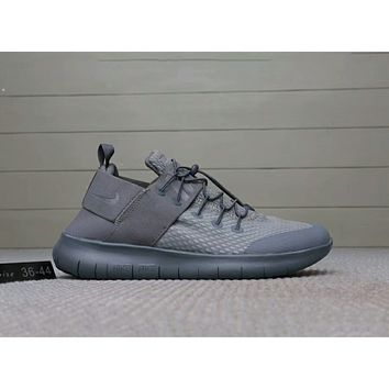 NIKE FREE RN CMTR 2018 Summer New Style Couples barefoot running shoes F-A0-HXYDXPF Grey