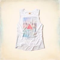 Official Hollister House Lineup Tank