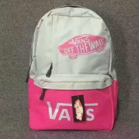"""VANS"" Trending Fashion Sport Laptop Bag Shoulder School Bag Backpack G-JJ-MYZDL"