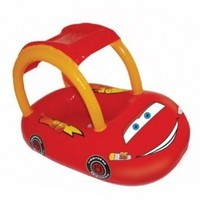 SwimWays Sun Canopy Baby Float - Disney Cars