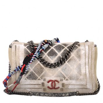 Chanel Oh My Boy Graffiti Flap Boy Bag