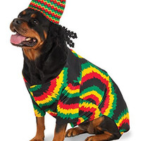 Rubies Costume Company 580381_XXXL Rasta Big Dog Boutique, 3X-Large