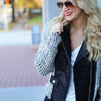 Mountain View Knitted Jacket
