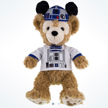 "Disney Parks Star Wars Duffy in R2-D2 Shirt & Ears 12"" Plush New with Tags"