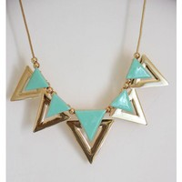 Pastel Mint Necklace