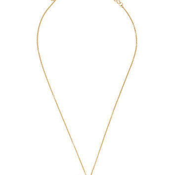 Kate Spade Born To Shine Ring Charm Necklace Clear Multi ONE