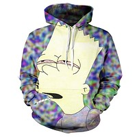 Trippy Bart Joint Hoodie