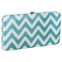 Merona® Printed Hard Case Wallet - Aqua