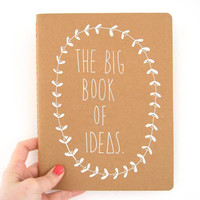 Large Plain Notebook - The Big Book Of Ideas