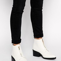 Truffle Collection Rem Zip Ankle Boots