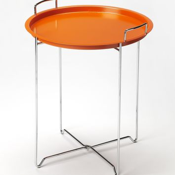 Midtown Orange Tray Table by Butler Specialty Company 3293294