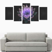 Lotus Flower z14 Canvas Print Sets C (No Frame) | ID: D2765739