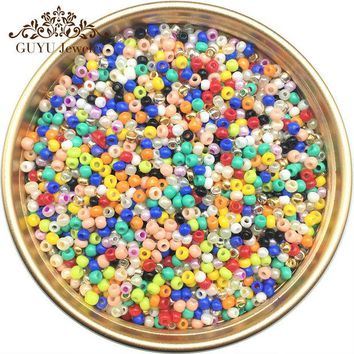 DCCKL72 jewelry accessories/21 Color 2mm 1500pcs 20g diy seed beads/beads for jewelry making/bead for clothing or jewelry design