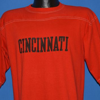 70s Cincinnati Bearcats Jersey t-shirt Medium