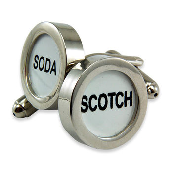 Scotch and Soda Cufflinks