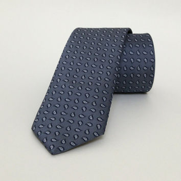 "Gray spotted Skinny Tie 2.36"" (6 cm) Gray spotted tie - Gray spotted necktie - Gray spotted cravat - DK644"