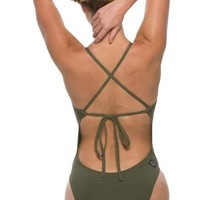 Dayno 2 Tie-Back Onesuit - Army