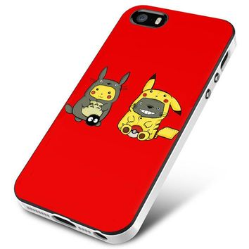 TOTORO AND PIKACHU iPhone 5   5S   5SE Case Planetscase.com