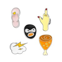 Colorful Cartoon Brooches
