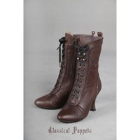 Classical Puppets Steam Victorian Short Boots(Leftovers) - CLOBBAONLINE