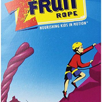 CLIF KID ZFRUIT - Organic Fruit Rope - Mixed Berry - (0.7 Ounce Rope, 6 Count)
