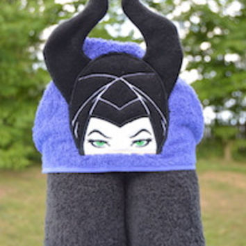 Dragon Lady Hooded Towel