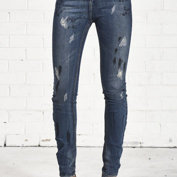 One Teaspoon Bleu Marine Scallwags Denim
