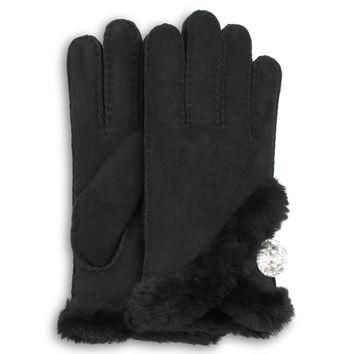 UGG? Official | Women's Bailey Bling Gloves | Beware of Fakes