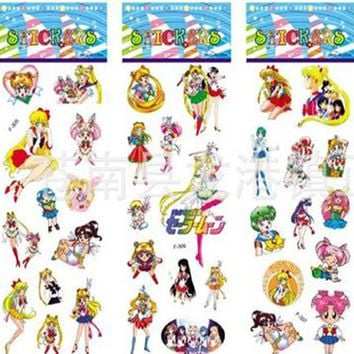Sailor Moon Stickers (6 Strips)