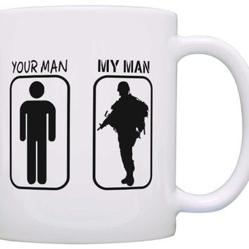 Your Man My Man Coffee Mug Cup for Girlfriend, Boyfriend, Wife, Husband