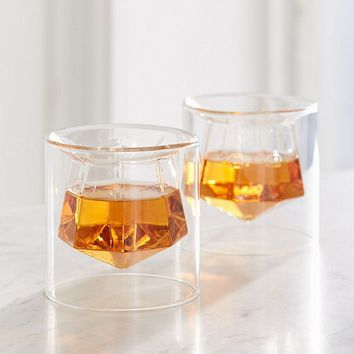 Gem Shot Glass - Set Of 2   Urban Outfitters