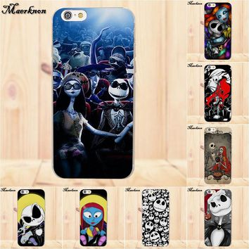 Soft TPU Cover Cell Phone Cases Nightmare Before Christmas Sally Jack For Samsung Galaxy A3 A5 A7 J1 J2 J3 J5 J7 2015 2016 2017