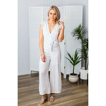 Nothing Like You Jumpsuit-Off White (S-XL)