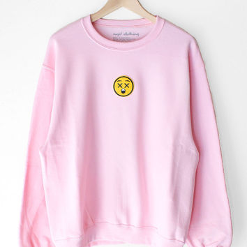 Emoji Pink Sweater